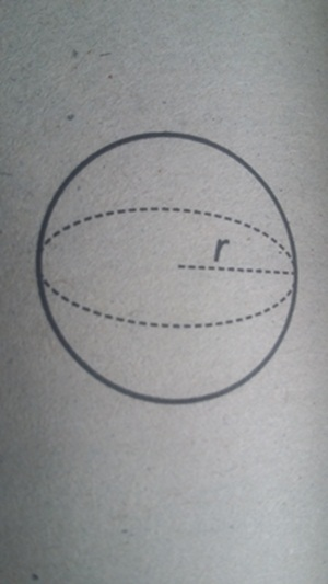 rumus luas bola