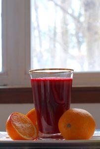 manfaat jus buah bit kombinasi sebagai peredam stres